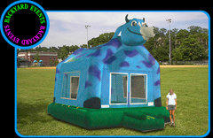 16X16 COW BOUNCE $367.00 DISCOUNTED PRICE