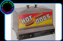 Hotdog steamer $99.00 DISCOUNTED PRICE