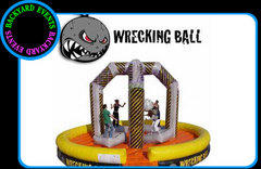 Deluxe wrecking ball $749.00  DISCOUNTED PRICE