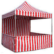 RED & WHITE TENT 10'X10' $299.00 DISCOUNTED PRICE