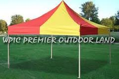 RED & YELLOW  TENT 10'X10' $199.00 DISCOUNTED PRICE