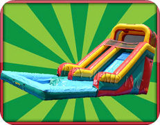 16' Water Slide with Pool