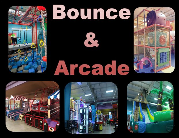 Bounce and Arcade Party Package $199 First 10 participants