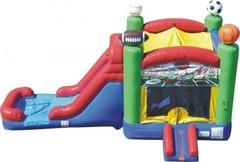 Sports Castle Slide Wet Combo