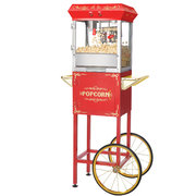 Red Popcorn Cart