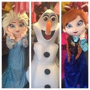Anna, Elsa, Olaf-The Frozen Trio