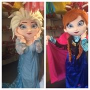 Anna and Elsa-Frozen Sisters