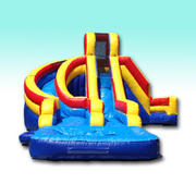 Helix 15ft Dual Lane Water Slide
