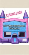 Girls Princess Bounce house