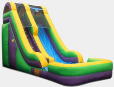 18ft waterslide Dry