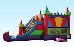 Bounce House w/Slide (Wet/Dry) 13&Under
