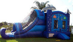 Bounce House  Water Slide Combos -CAN  BE USED DRY 13yrs and under