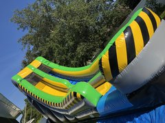 19ft Use Caution Extreme Slide (wet/dry)