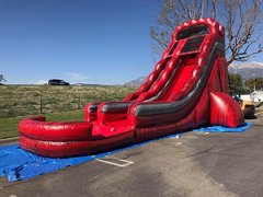 22ft Water Slide w Splash Pad