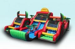 Aqua Extreme 3pc Obstacle Double Slide Wet or Dry