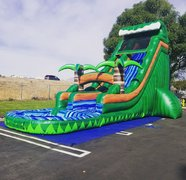 22ft Rainforest Tropical Slide