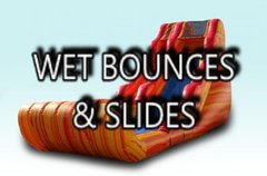 Wet Bounces and Slides