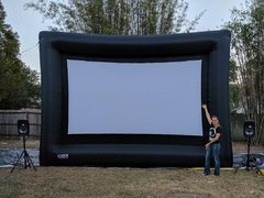 Outdoor Movie Night (Commercial/public venue)
