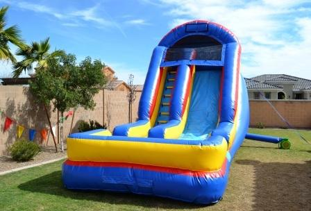 18' Wild Splash Dry Slide