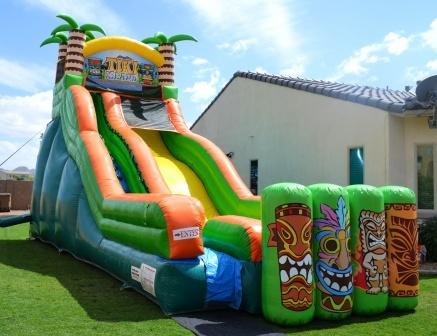 19' Tiki Island Waterslide.