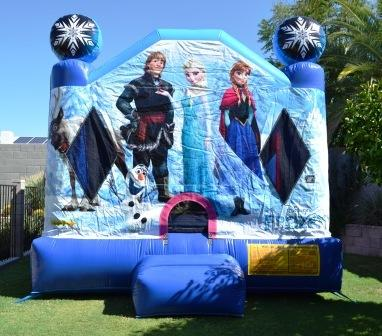 Frozen Bouncer 13x13