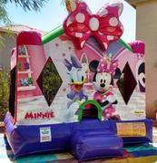 Minnie Mouse Bouncer 13x13.