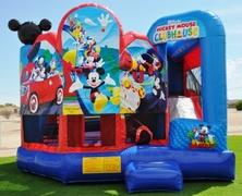 Mickey Mouse 5-N-1 Combo Water Slide