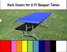 Kwik Table Covers-6ft.