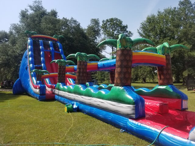 28ft Baja Fall Double Lane with slip and slide
