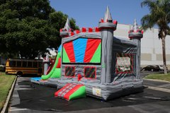 Silver Castle Combo with Pool or dry Slide