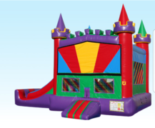 Enchanted Castle with Dry slide