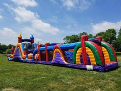 73ft  Blaster Obstacle Course with wet or dry slide