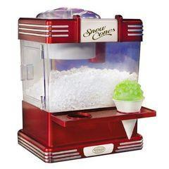Sno Cone machine for (1- 4 people)