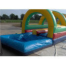 32 ft Double Slip-n-Slide w Pool