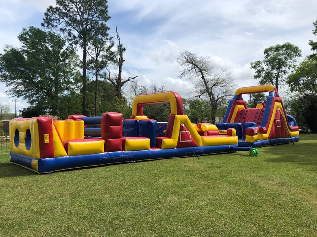 70 ft Obstacle Course