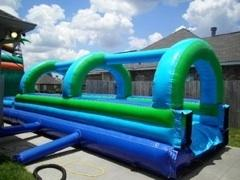 Aqua Tunnel/Slip and Slide w/pool
