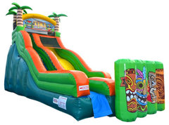 Tiki Island Waterslide
