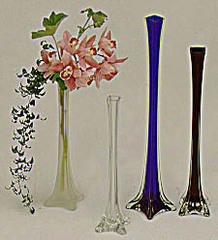 Eiffel Tower Vase, Clear 30