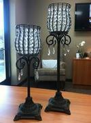 Wrought Iron Table Lamp, set of 2