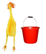 Relay Race: Chicken in a Bucket