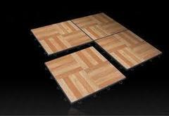 3'x3' Dance Floor Tile, Oak