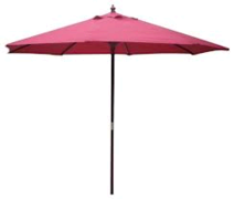 Red Market Umbrella, 9'