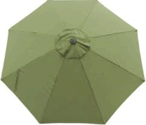 Sage Market Umbrella, 9'
