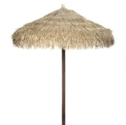 Thatched Tiki Umbrella, 7'
