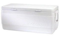 Cooler, 128 Qt White