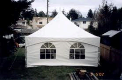 20' Section Tent Wall, Window
