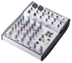 Mixing Board, 6 Channel