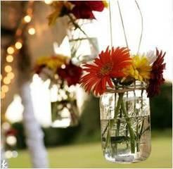 Mason Jar, Hanging Quart