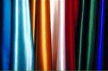 Pipe & Drape 8' tall, Satin Drape