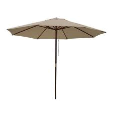 Natural Market Umbrella, 9'